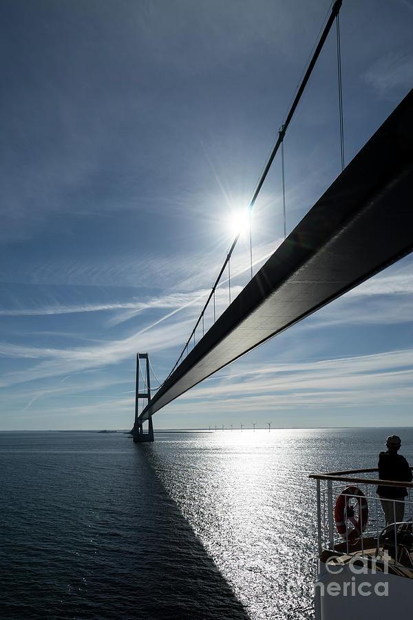Oresund Photograph - Oresund Bridge by Paolo Sirtori