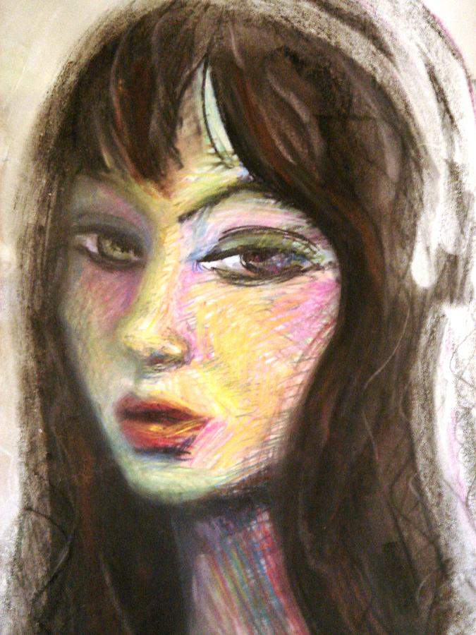 Portrait Painting - Orfidal Anger by Jenni Walford