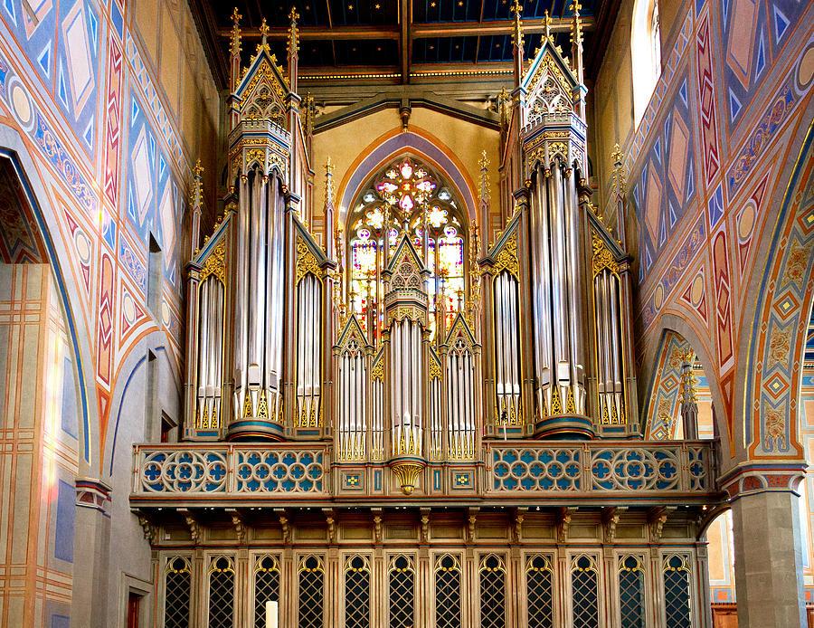 Organ jewel by Jenny Setchell