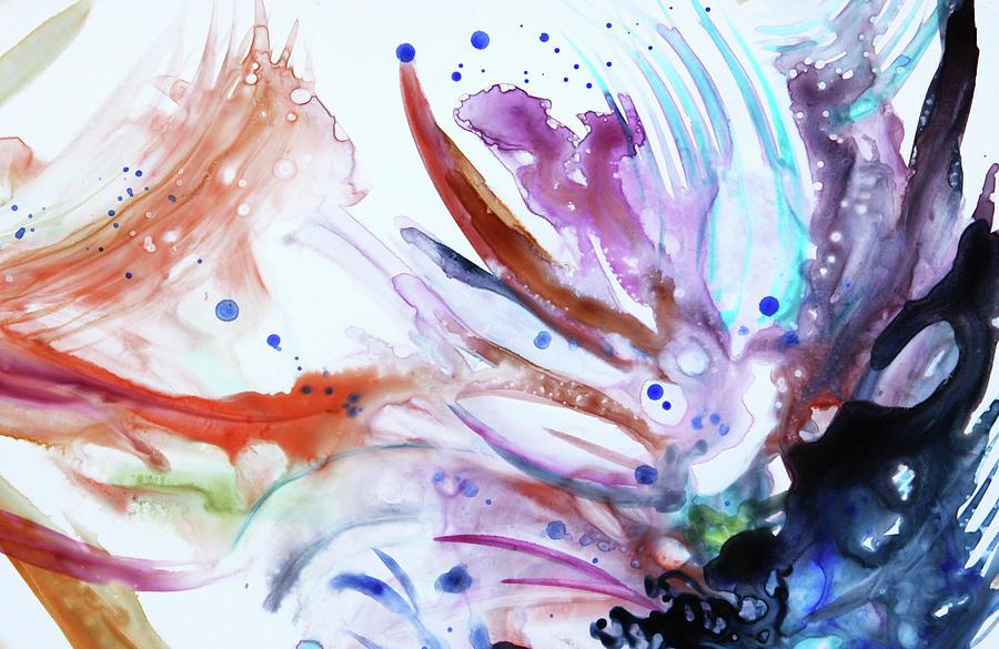 Organic Painting - Organic 3 by Shaina Stinard