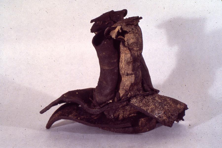 Ceramic Sculpture - Organic Ceramic 1977 by Ron Hayes