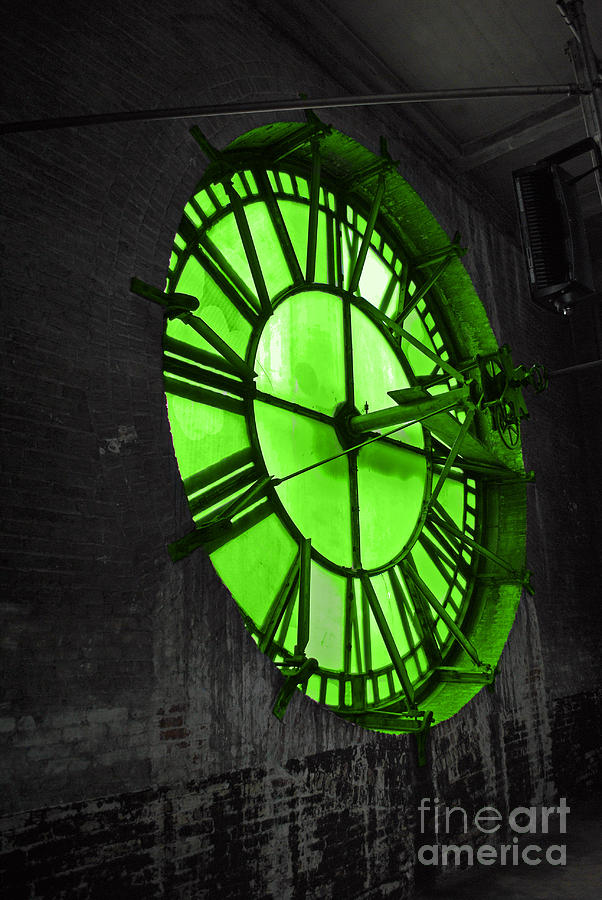 Clock Photograph - Organic Time by Jost Houk