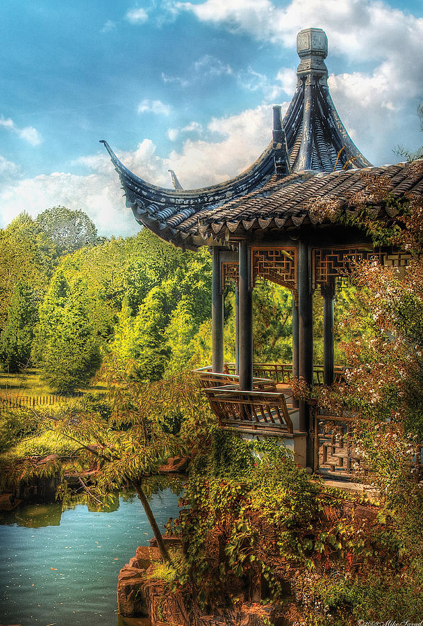 Savad Photograph - Orient - From A Chinese Fairytale by Mike Savad