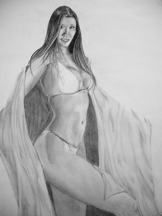 Oriental Drawing - Oriental by Fabio Turini