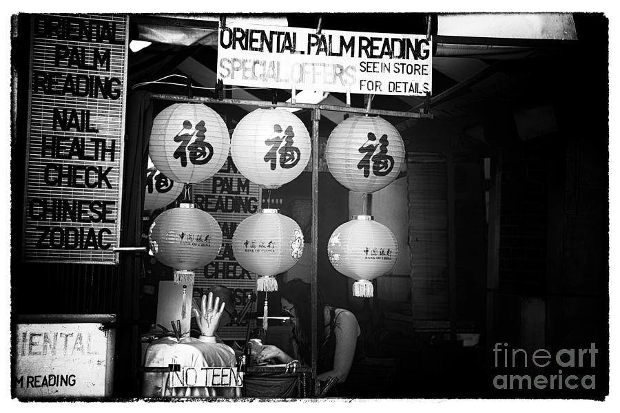 Oriental Palm Reading Photograph - Oriental Palm Reading by John Rizzuto