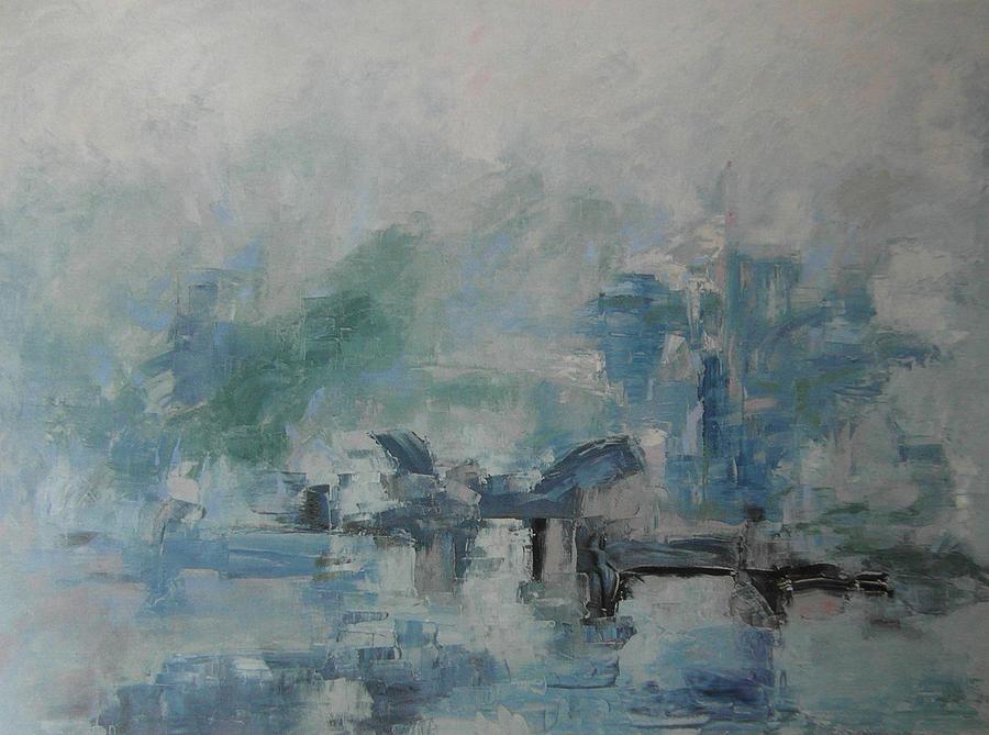 Oriental Painting - Oriental Scene by Guillermo Serrano de Entrambasaguas