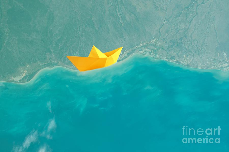 Origami Photograph - Origami by Jacky Gerritsen