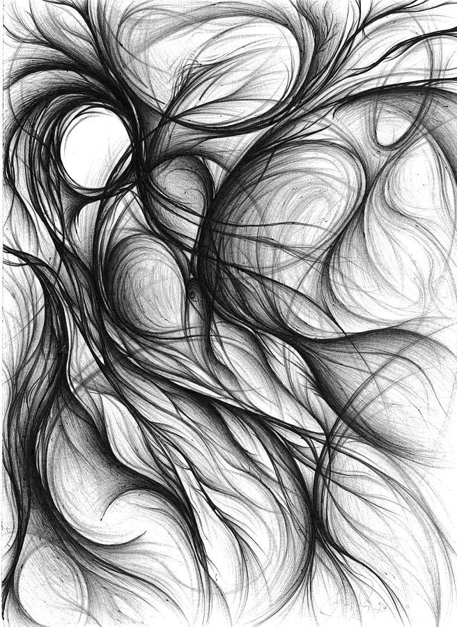 абстрактные рисунки карандашом для начинающих поэтапно разберемся