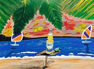 corona beer advertisement