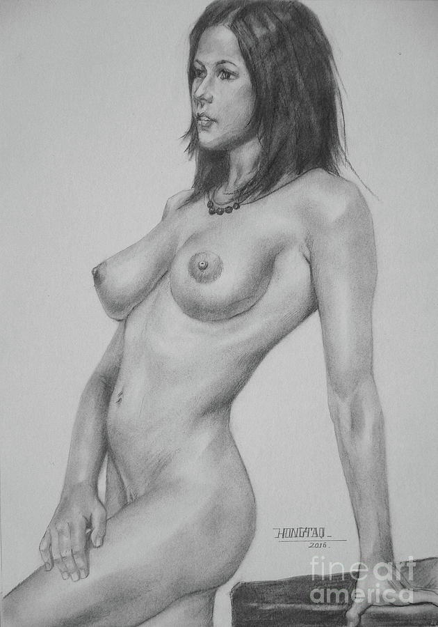 hot drawing naked girl