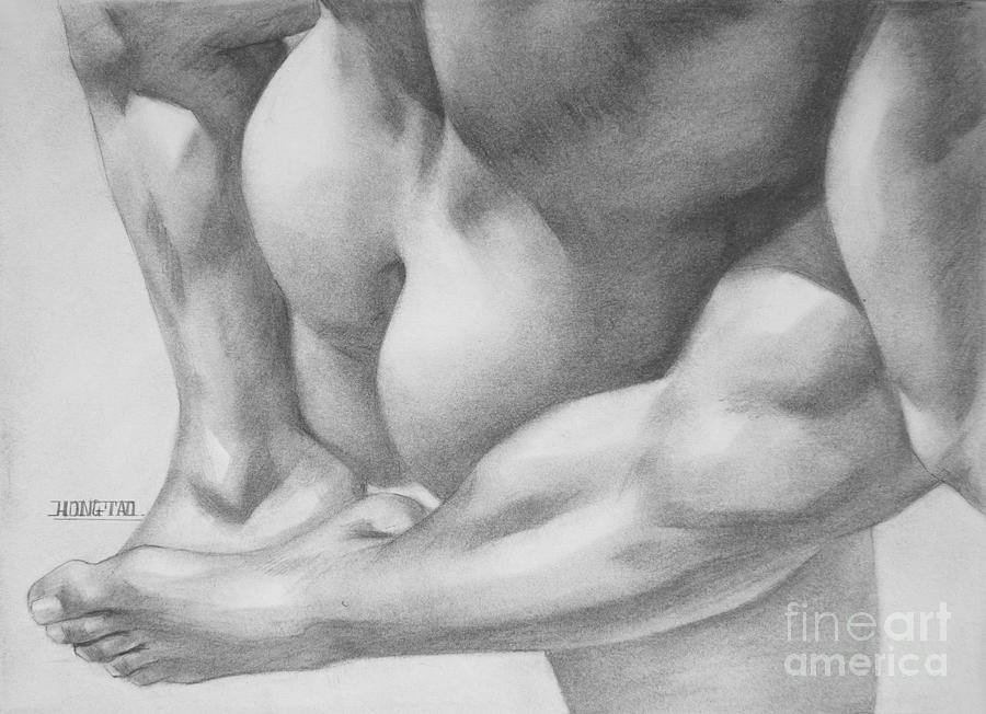 adult gay pencil drawings
