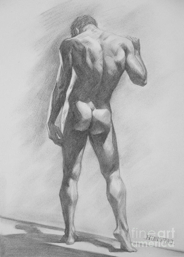 Naked Man Sketch Images, Stock Photos Vectors