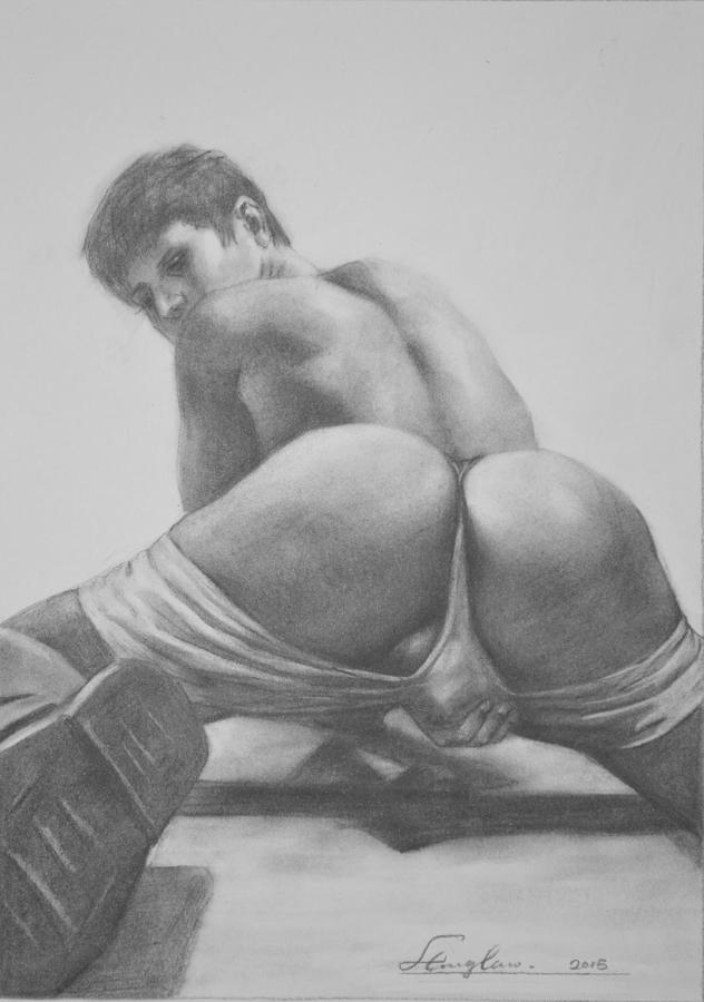 nudes drawings male Gay