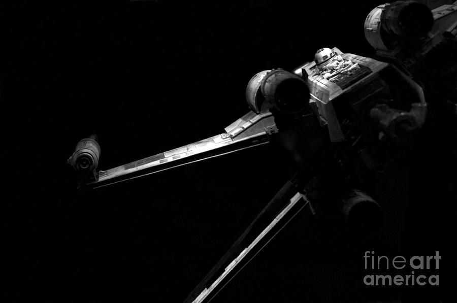 Star Wars Photograph - Original Luke Skywalker X-wing Fighter 2 by Micah May