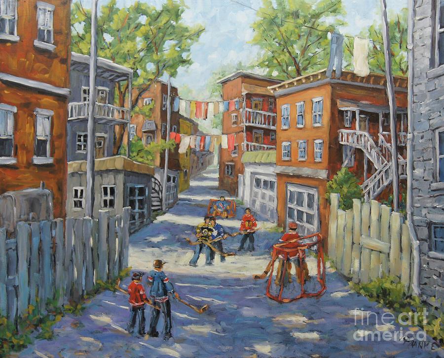 Original Six Back Lanes  by Richard T Pranke