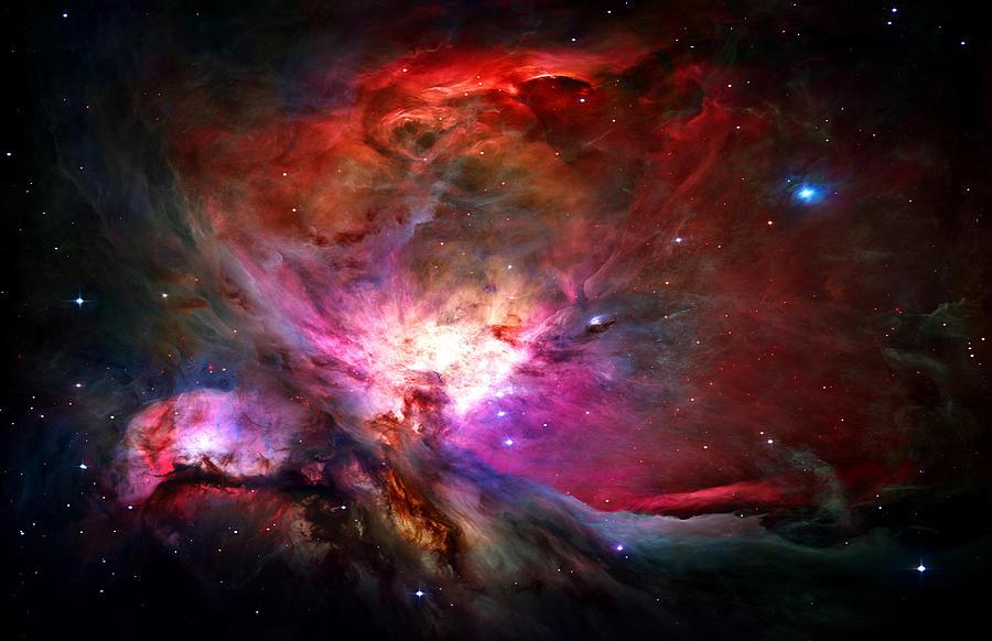 Orion Nebula Photograph - Orion Nebula by Michael Tompsett