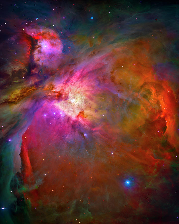 Orion Nebula Photograph - Orion Nebula by Paul W Faust - Impressions of Light