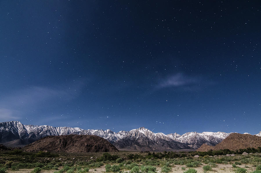 California Photograph - Orion Over Mt. Whitney by Margaret Pitcher