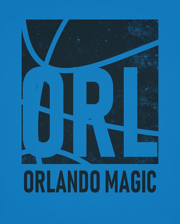 best website 6159c 006a2 Orlando Magic City Poster Art by Joe Hamilton