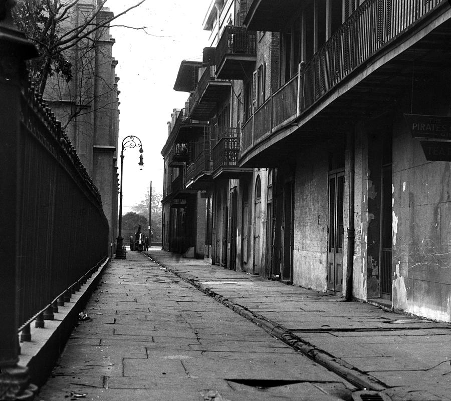 Street Scene Photograph - Orleans Alley by Crescent City Collective