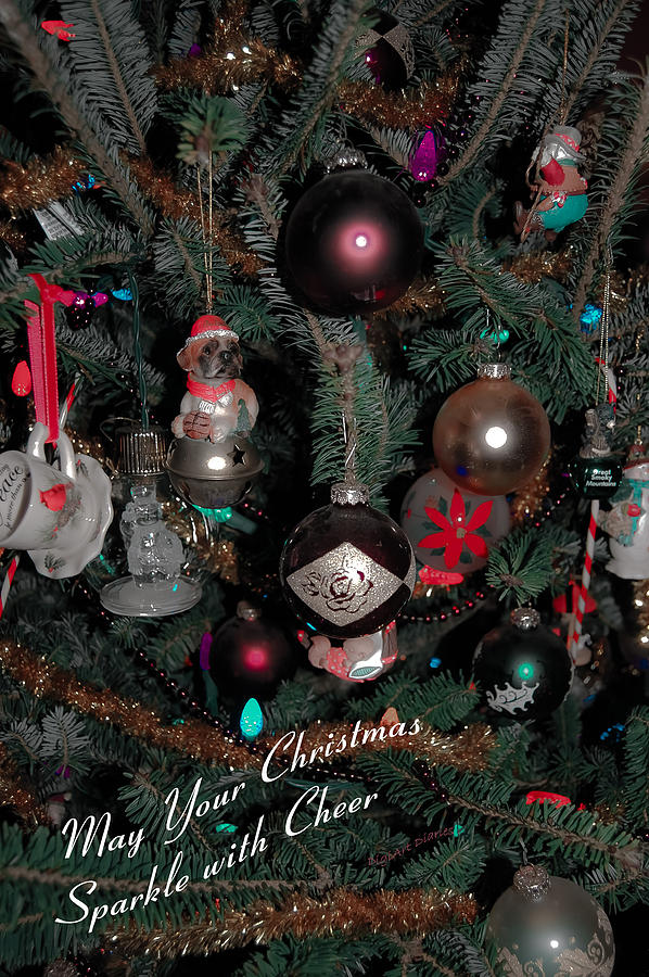 Christmas Digital Art - Ornamental by DigiArt Diaries by Vicky B Fuller