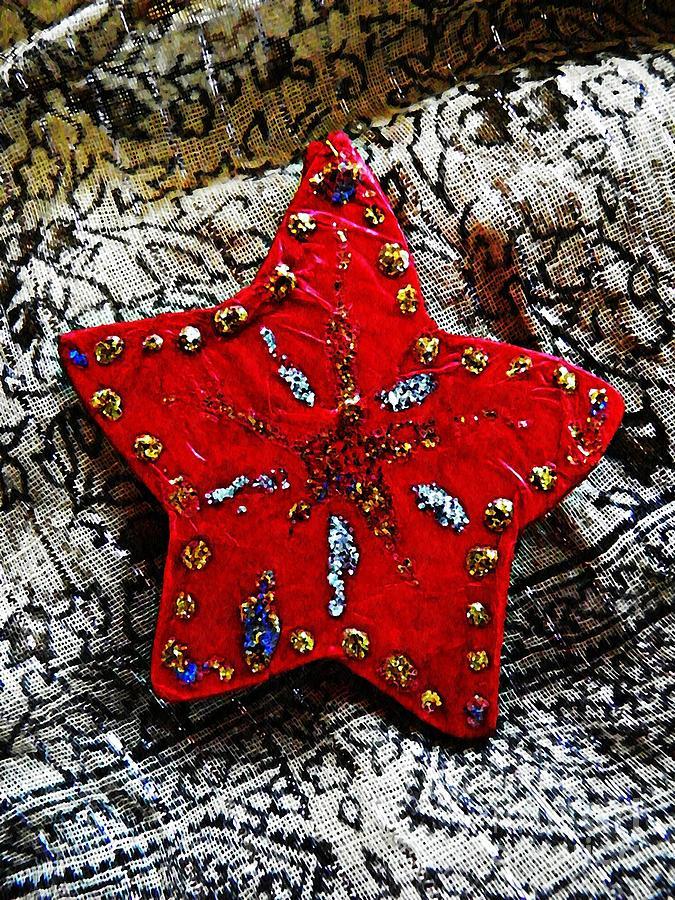 Star Photograph - Ornaments 15 by Sarah Loft