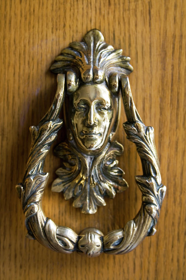 Ornate Door Knocker Photograph By Carl Purcell