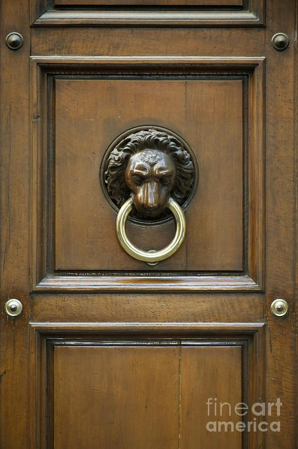 Architectural Photograph   Ornate Door Knocker By Rob Tilley