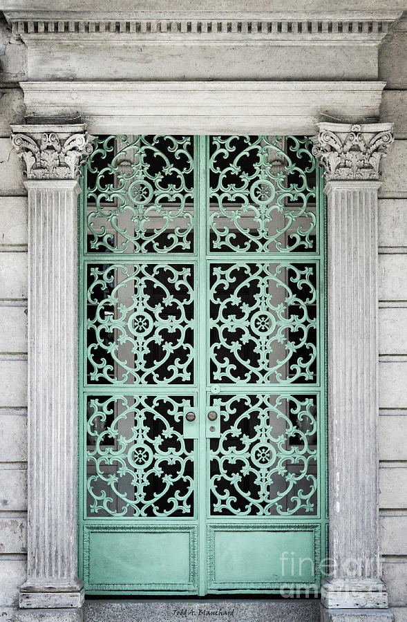 Ornate Entrance by Todd Blanchard