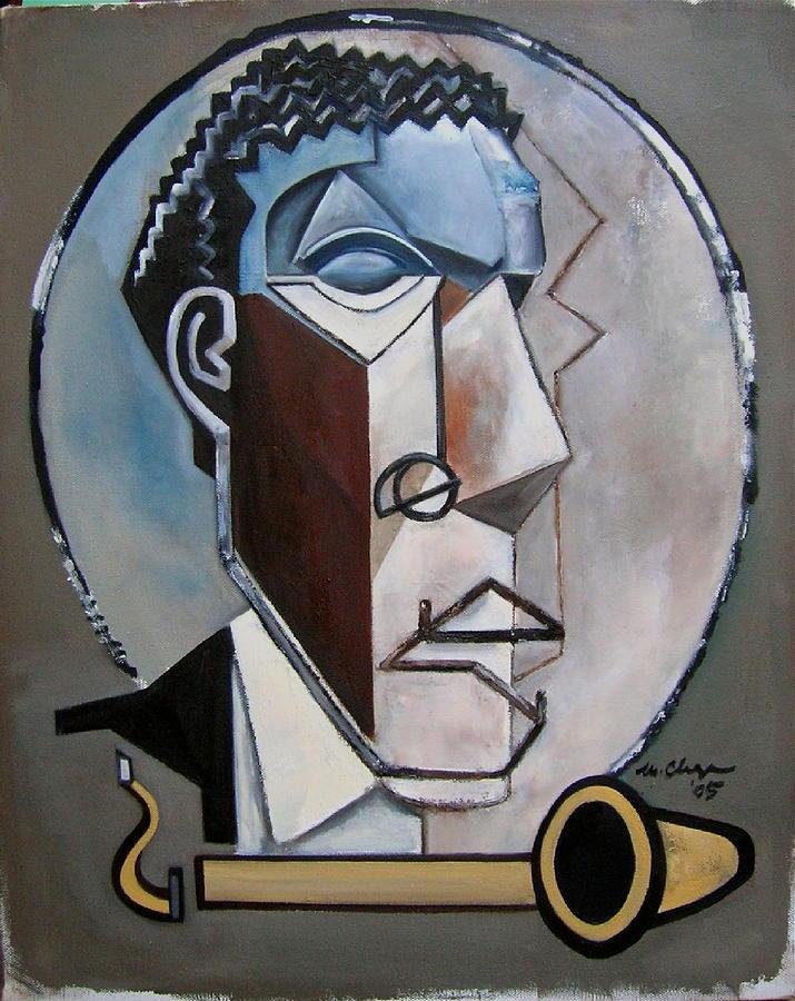 Ornette Sculptural Painting by Martel Chapman