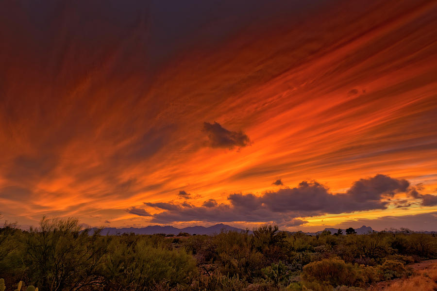 Oro Valley Sunset H6 Photograph