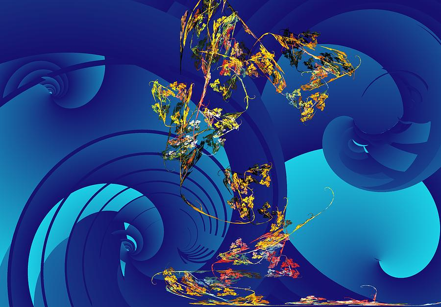 Fantasy Digital Art - Orphaned  by David Lane