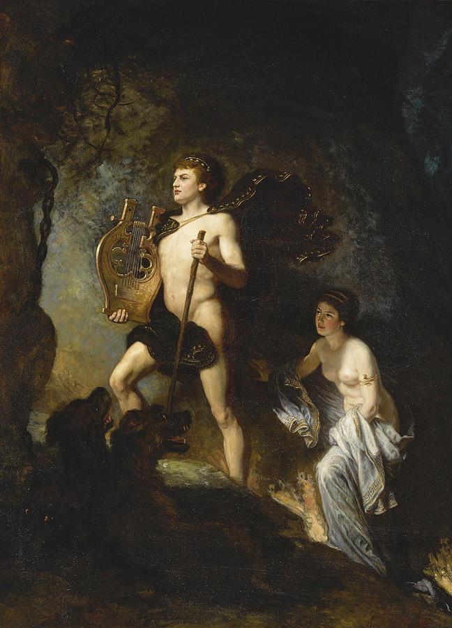 Orpheus And Eurydice Painting ...