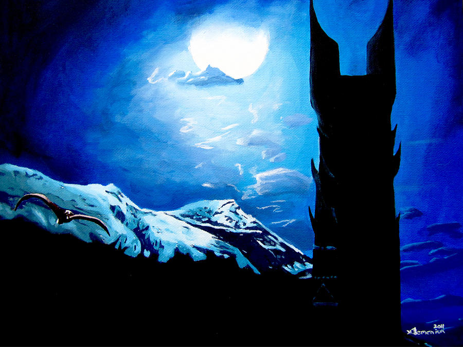 Lord Painting - Orthanc Rescue by Kayleigh Semeniuk