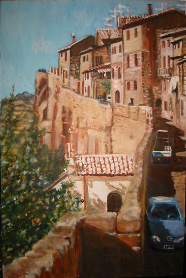 Italy Painting - Orvieto by Fran Steinmark