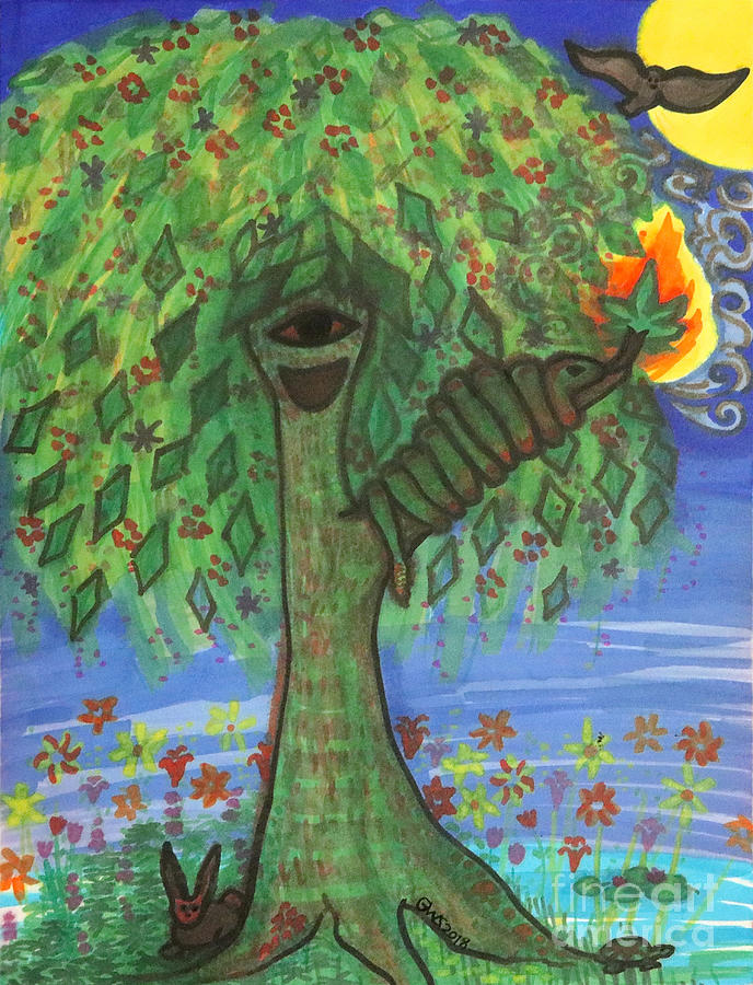 Osain Tree by Gabrielle Wilson-Sealy