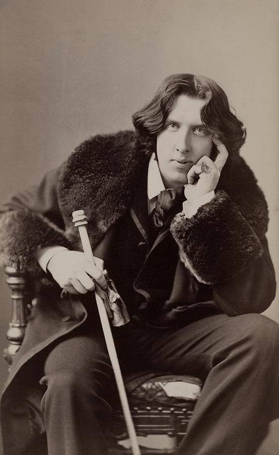 1880s Photograph - Oscar Wilde, 1854-1900 Irish Writer by Everett