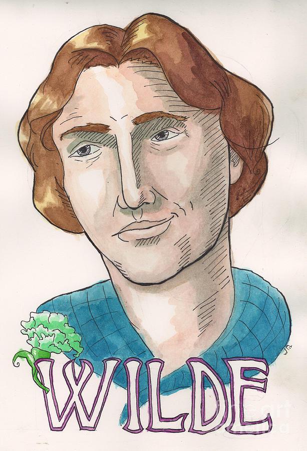 Oscar Wilde Painting - Oscar Wilde by Whitney Morton