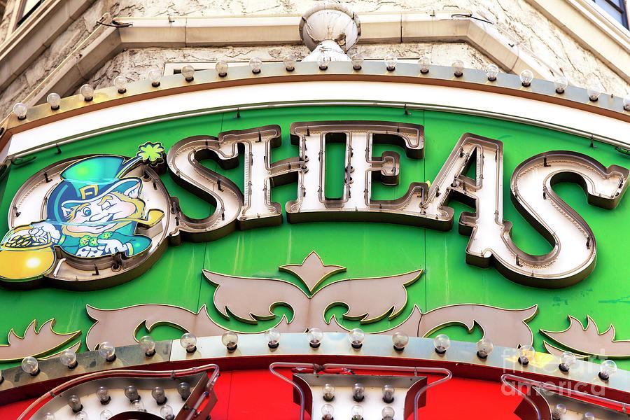 Irish Photograph - Osheas Las Vegas by John Rizzuto
