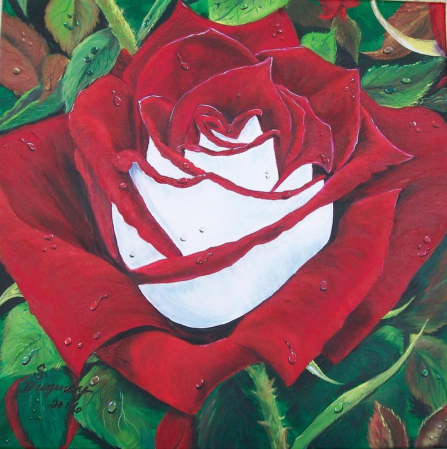 Osiria Rose Painting