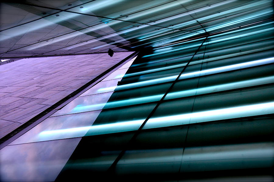 Abstract Photograph - Oslo Opera House Norway 211 by Per Lidvall