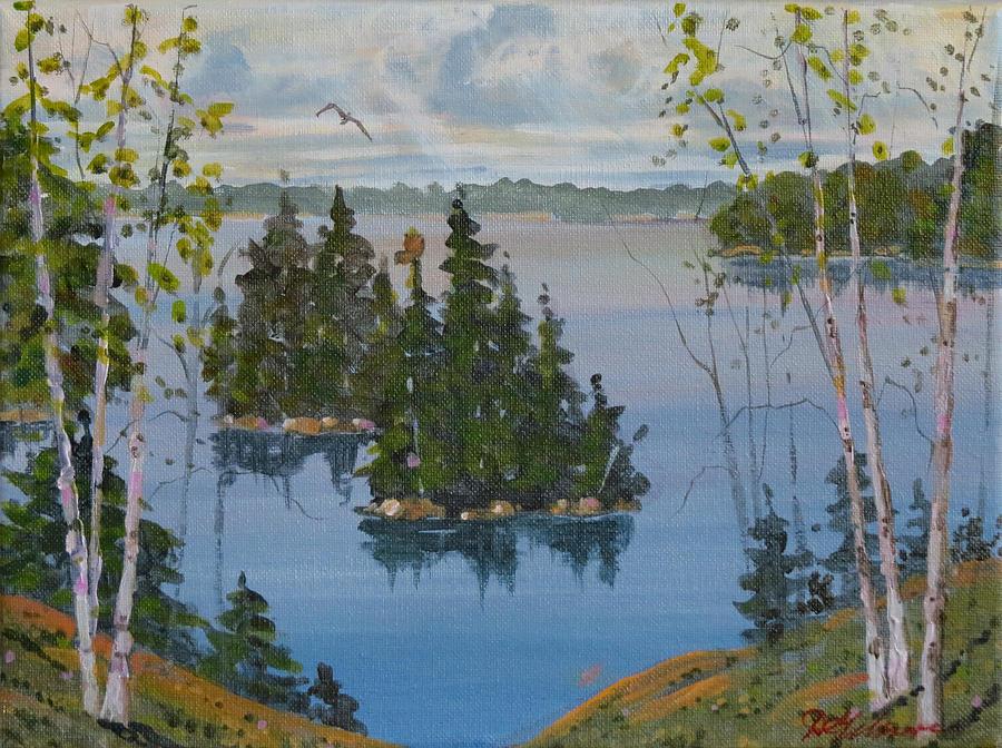 Osprey Island Study by David Gilmore
