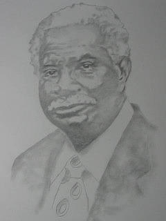 Actor Drawing - Ossie Davis by B Jaxon