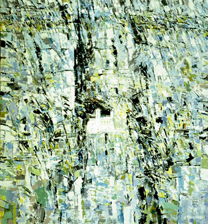 Landscape Painting - Ostrog,  by Vladimir Vlahovic