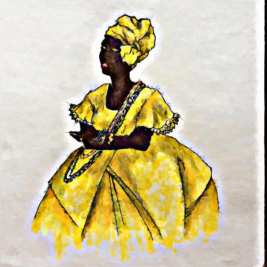 Osun Drawing By Fredson Santos Silva