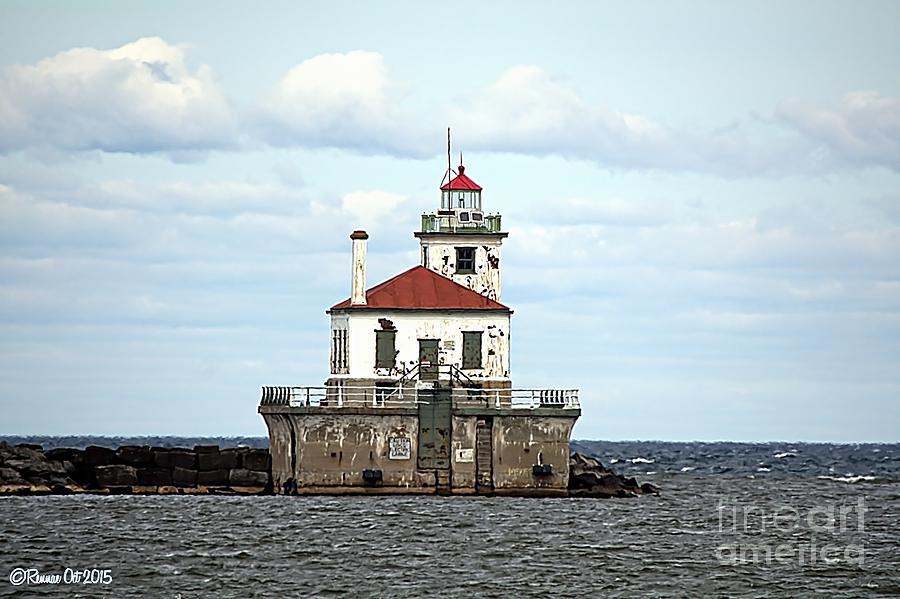 Lake Ontario Photograph - Oswego NY Lighthouse by Rennae Christman