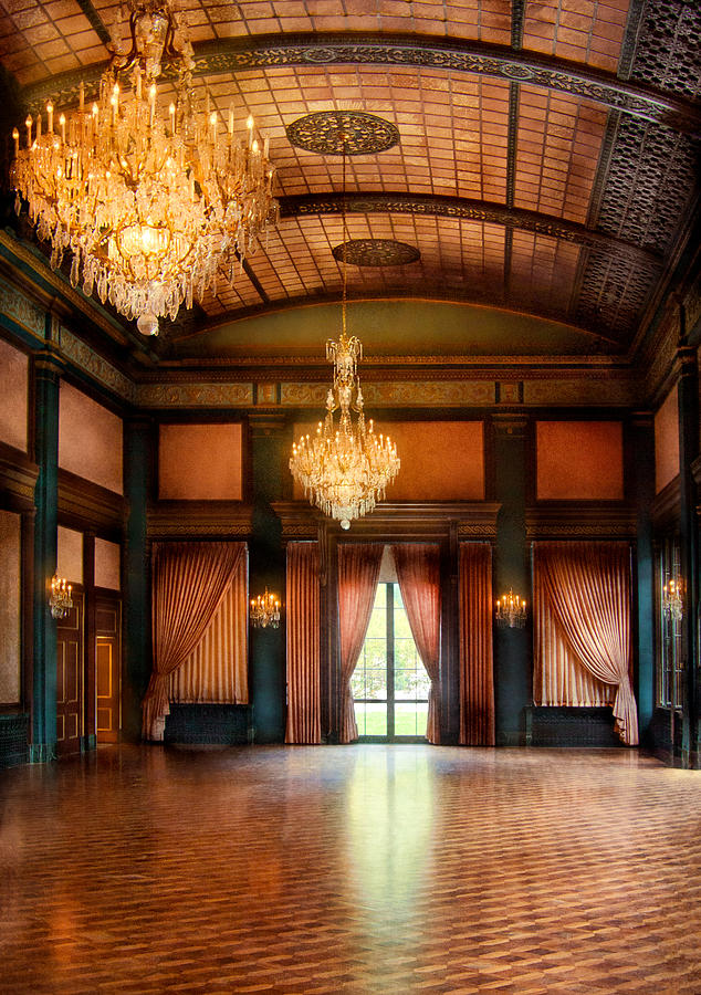 Hdr Photograph - Other - The Ballroom by Mike Savad