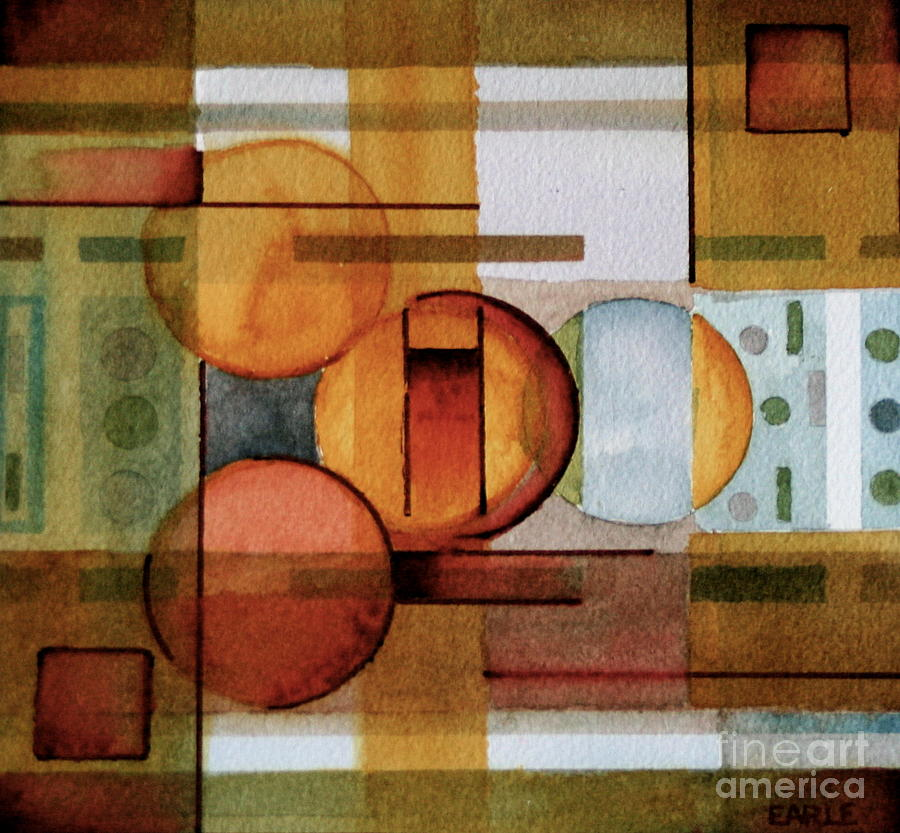 Abstract Painting - Other Dimensions  by Dan Earle