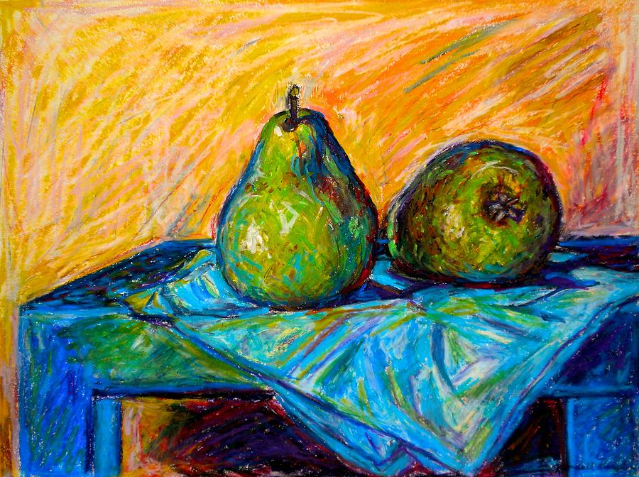Still Life Painting - Other Pears by Kendall Kessler