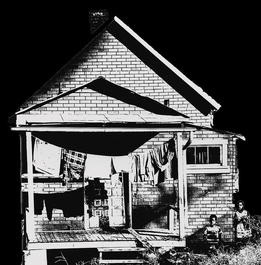 Poor Photograph - Other Side Of America by Don Wolf
